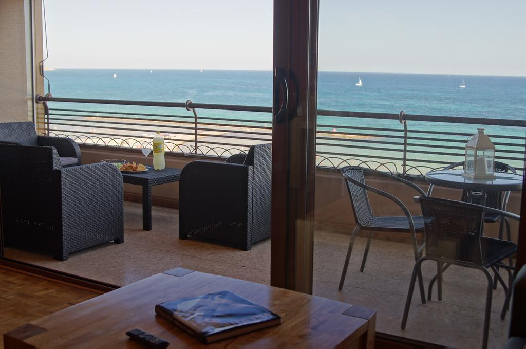 open teracce with comfortable chairs and stunning views